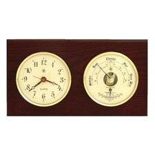 Clock, Barometer and Thermometer
