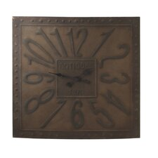 Antique Studded Wall Clock