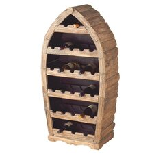 Boat Wine 26 Bottle Wine Rack