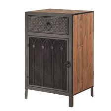 Toscana 1 Drawer Side Cabinet