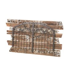 Rustic Wall Decor with Distressed Wood Planks