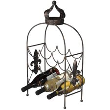 Crown 9 Bottle Table Top Wine Rack