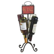 4 Bottle Table Top Wine Rack