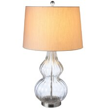 "Oversized 29"" H Table Lamp with Empire Shade"