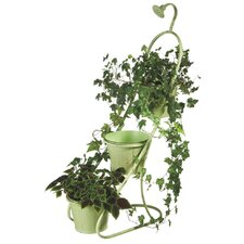 Double Water Spicket Planter Stand