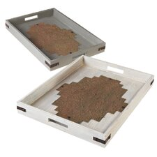 Arrow Tray (Set of 2)