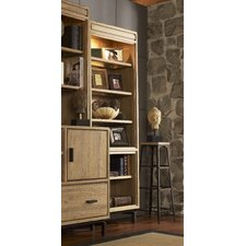 Blair Open Bookcase with Three-Way Ambient Touch Lighting