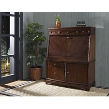 Madison Secretary Desk with File Drawers