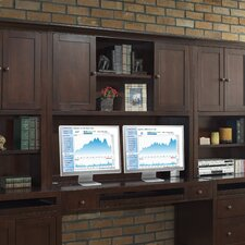 "Companion 48"" H x 56"" W Desk Hutch"