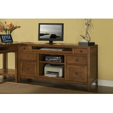 <strong>iQuest Furniture</strong> Companion Credenza Desk with Printer Pull Out