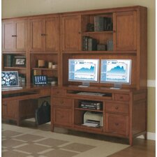 Companion Partners Desk with Modular Wall Setting