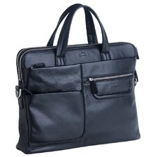 "Manhattan Double Compartment Unisex Tote for 15.6"" Laptop and Electronic Tablet"
