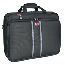 Biztech CompuFlyer 2-Single Compartment Checkpoint-Friendly Laptop Briefcase