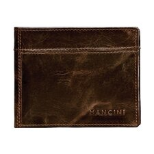 <strong>Mancini</strong> Outback Men's Double Wing Billfold