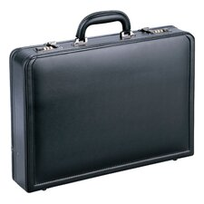 <strong>Mancini</strong> Business Leather Laptop Attaché Case