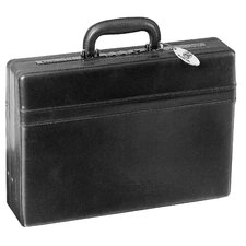 Signature Deluxe Leather Attaché Case