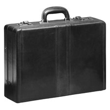 Signature Leather Attaché Case