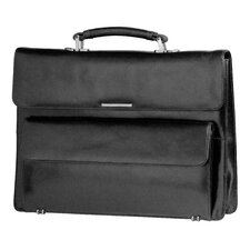 Signature Classic Leather Briefcase