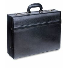 <strong>Mancini</strong> Business Leather Attaché Case