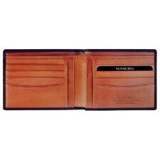 Oro Men's Classic Billfold Wallet in Fine Italian Leather