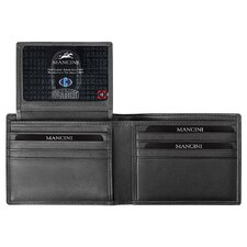 <strong>Mancini</strong> Collegiate Men's Passcase Wallet (RFID Secure)