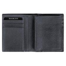 Collegiate Men's Passcase Hipster Wallet (RFID Secure)