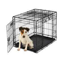 <strong>Midwest Homes For Pets</strong> Ovation Trainer Double Door Pet Crate