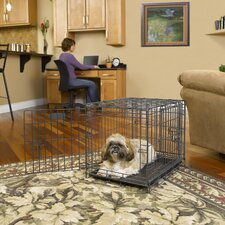 Select Fold and Carry Triple Door Pet Crate