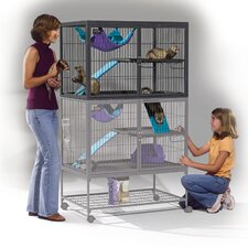 <strong>Midwest Homes For Pets</strong> Ferret Nation Add-On Unit Cage