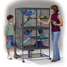 <strong>Midwest Homes For Pets</strong> Ferret Nation Double Unit Cage