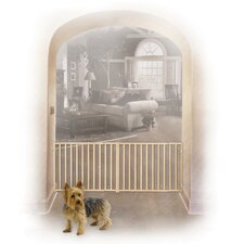 Extra-Wide Rail and Baluster Pet Gate