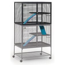 Critter Ferret Nation Nation Add-On Unit Cage in Gray