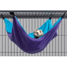 Ferret Nation Accessories Hammock Hideaway in Teal and Purple