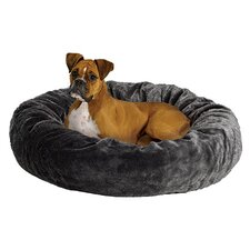 Quiet Time Deluxe Bagel Dog Bed