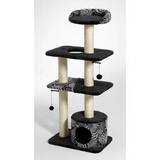 Feline Nuvo Tower Cat Furniture in Black