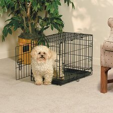 <strong>Midwest Homes For Pets</strong> Life Stages Fold and Carry Single Door Pet Crate