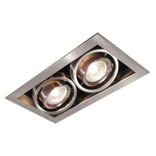 Series Cube 2 Light Recessed Trim Light