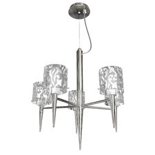 <strong>Bazz</strong> Glam 5 Light Pendant Chandelier