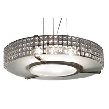Glam 6 Light Pendant Chandelier