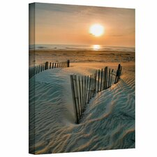 'Sunrise over Hatteras' Gallery-Wrapped Canvas Art by Steve Ainsworth