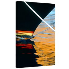 'Docked' by Linda Parker Gallery Wrapped on Canvas