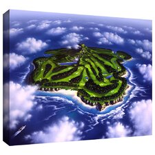 'Paradise Island' by Jerry Lofaro Gallery-Wrapped on Canvas