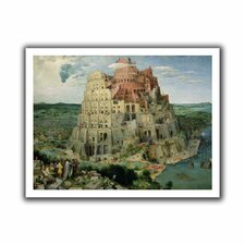 'Tower of Babel' by Pieter Bruegel Canvas Poster