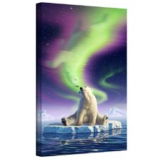 'Artic Kiss' by Jerry Lofaro Gallery-Wrapped on Canvas