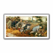 'Parable of the Blind' by Pieter Bruegel Canvas Poster