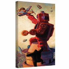 'Robokong' by Eric Joyner Gallery-Wrapped on Canvas