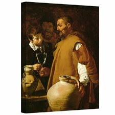 'Waterseller of Seville' by Diego Velazquez Gallery-Wrapped on Canvas
