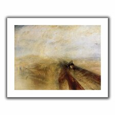 'Rain Steam and Speed, The Great Western Railway II' by William Turner Unwrapped on Canvas
