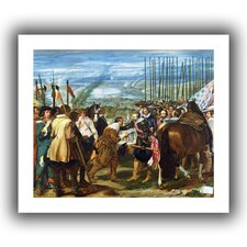 'The Surrender of Breda' by Diego Velazquez Unwrapped on Canvas