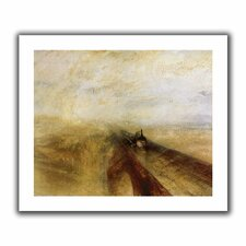 'Rain Steam and Speed, The Great Western Railway' by William Turner Unwrapped on Canvas